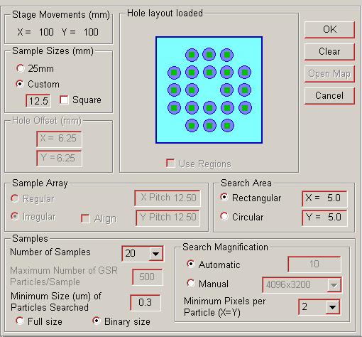 Sample configuration setup.